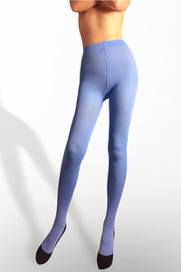 Microfiber Tights 100 Denier - Light Blue