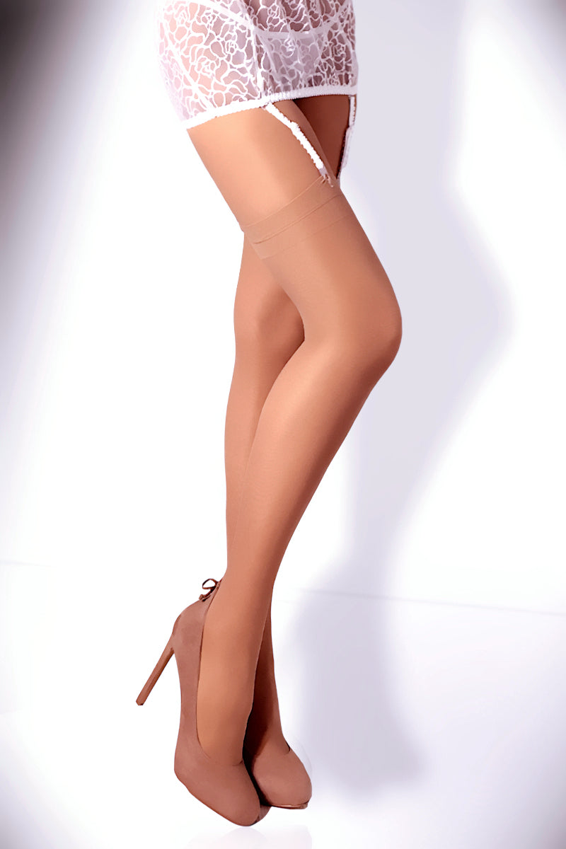 Classic Sheer Stockings 15 Den - Nude