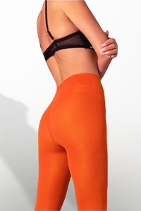 Microfiber Tights 100 Denier - Orange