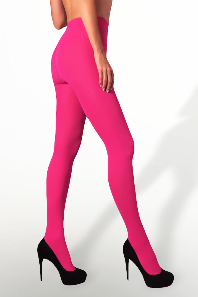 Microfiber Tights 100 Denier - Pink