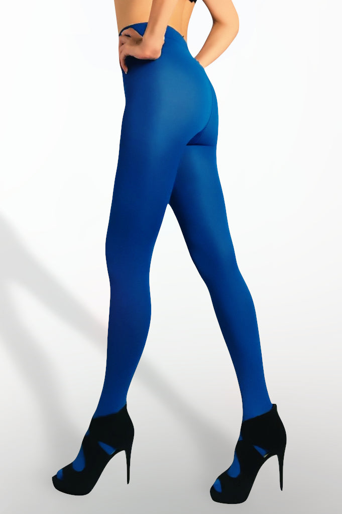 Microfiber Tights 100 Denier - Turquoise