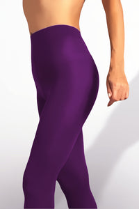 Microfiber Tights 100 Denier - Violet