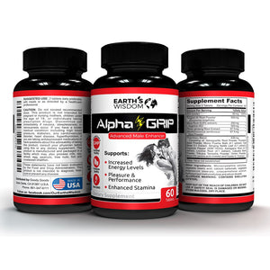 earths wisdom alpha grip natural testosterone booster performance enhancer