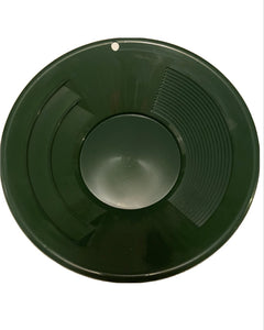 (1) 10inch green pan with one 3 oz bottle snifter and one 5lb black sand magnet with free shipping