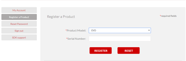 Register your Autel Products with S/N number