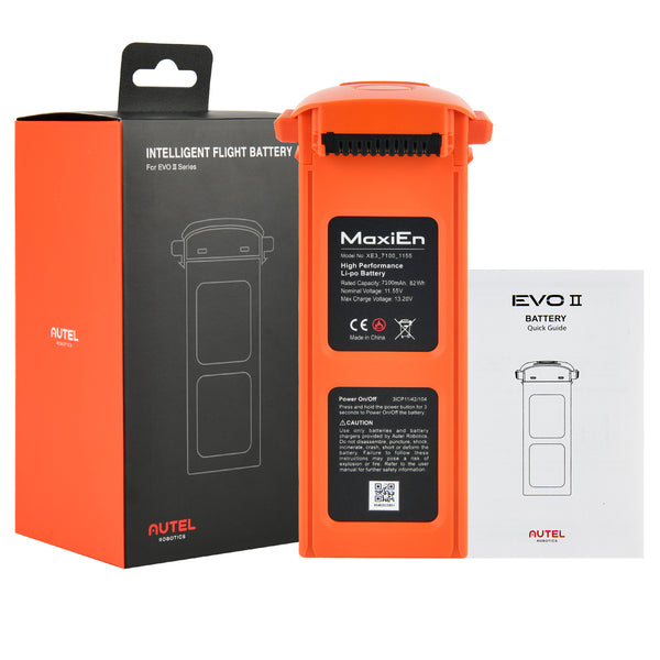 Autel EVO II Battery Package List