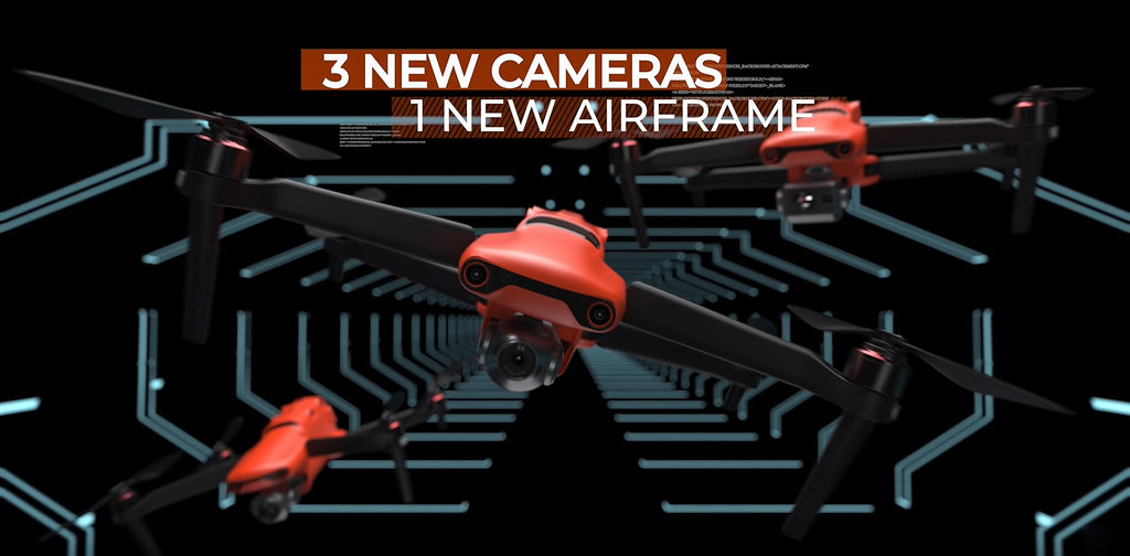 Autel EVO II One new aircraft with three camera options