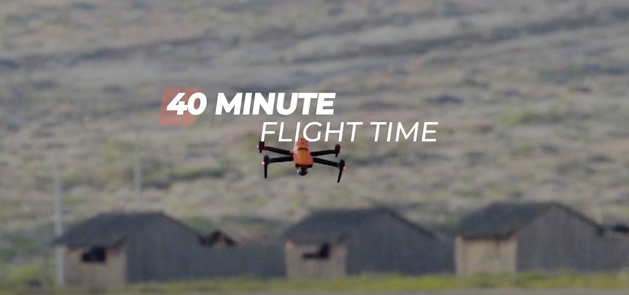 autel evo 2 provides up to 40min of flight time