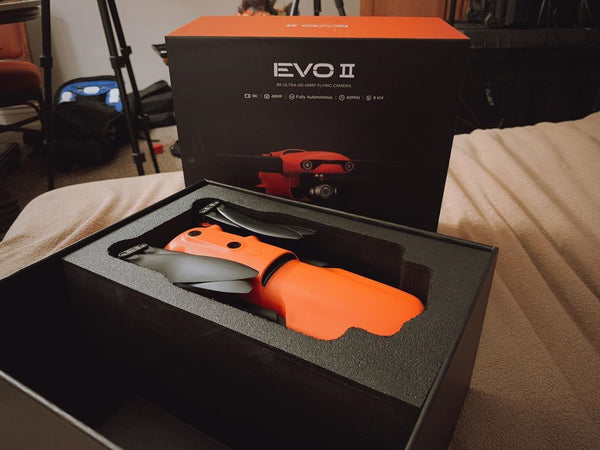 Autel EVO II shipping out picture