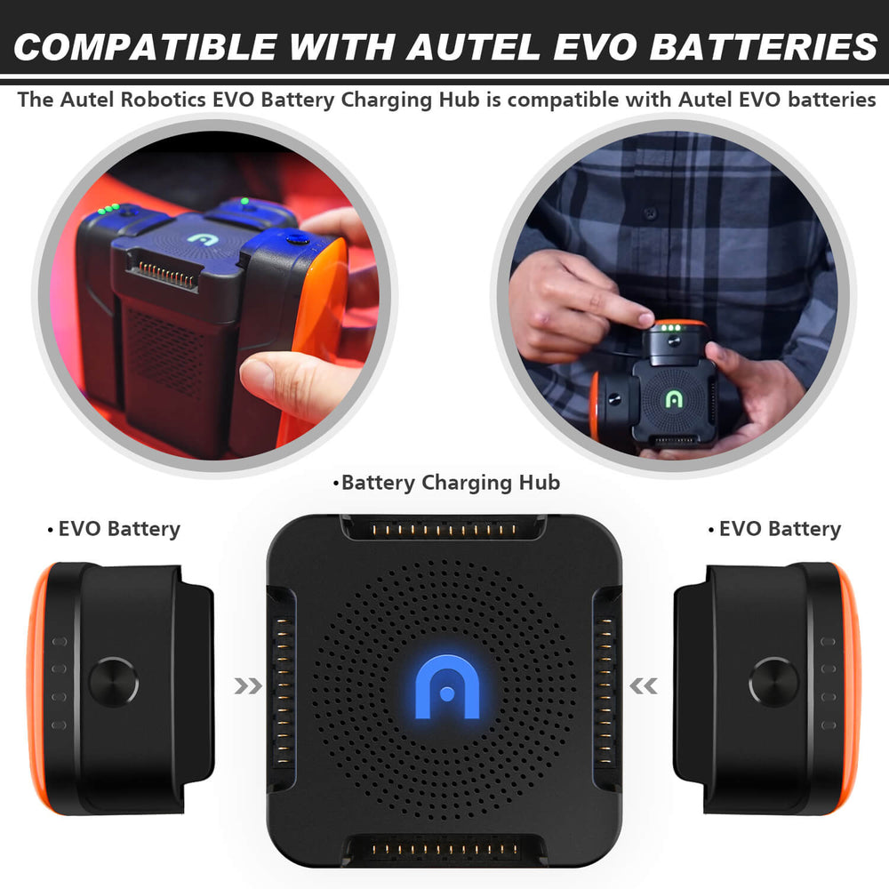 Autel EVO Battery Charging Hub compatible