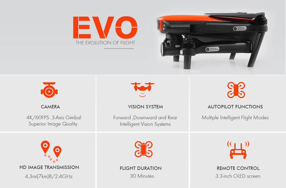 Autel evo drone full functions