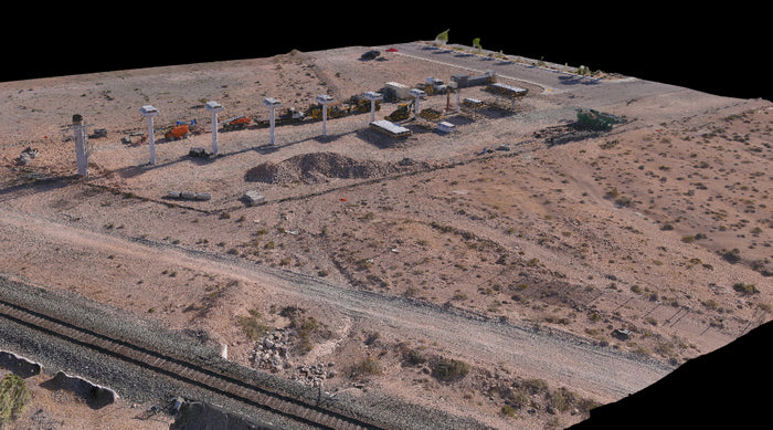 Autel evo ii 3d mapping picture