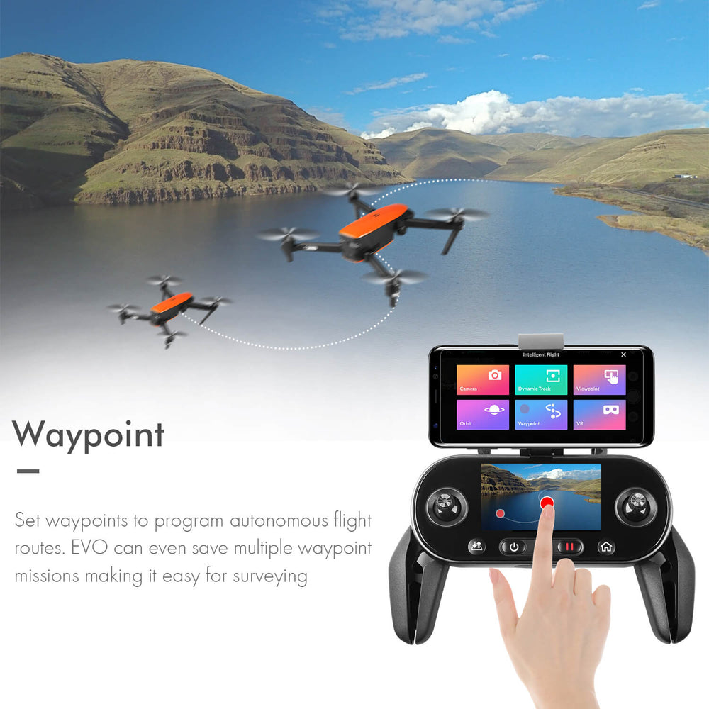 "Autel evo drone 3.3"" OLED screen remote controller with powerful functions"