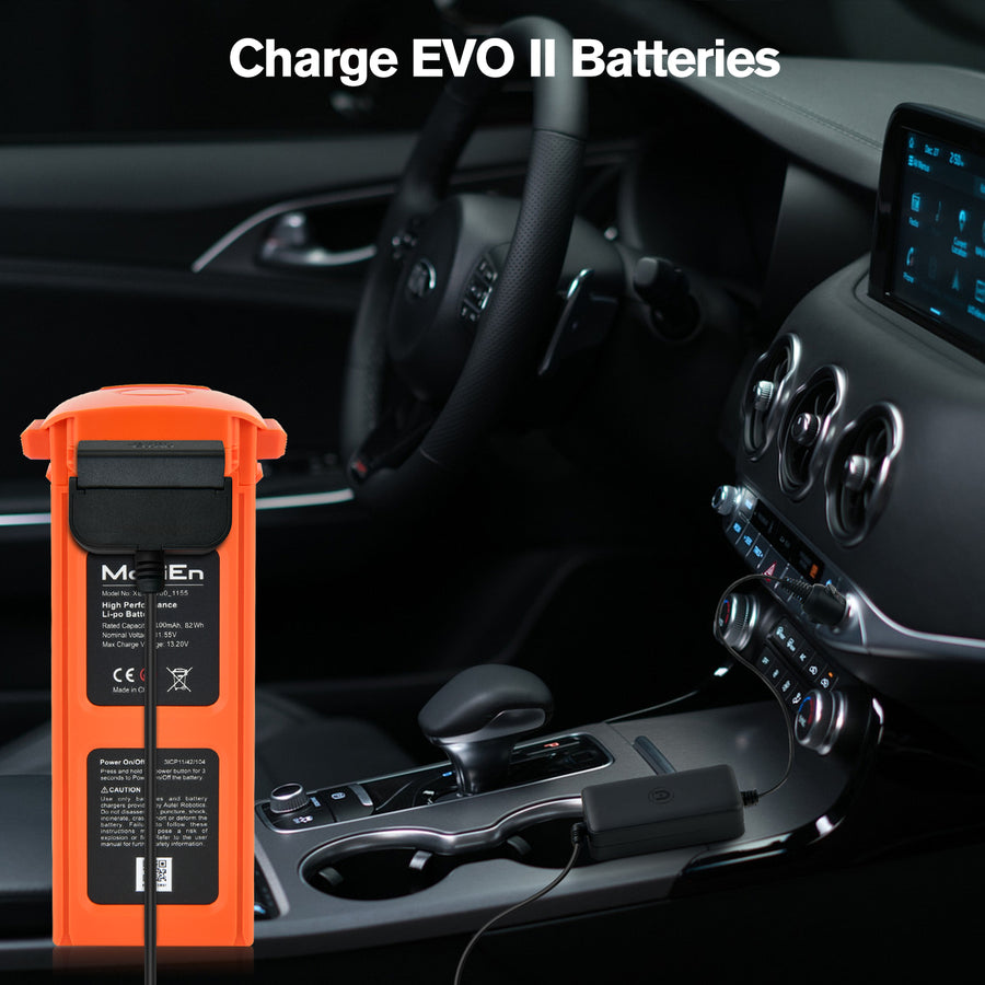 Autel EVO II Car Charger For EVO II Battery