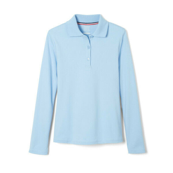 French Toast Girls Uniform Long Sleeve With Picot Collar