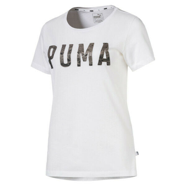 PUMA ATHLETIC WHITE T-SHIRT NWT
