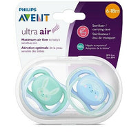 Philips Avent Ultra Air 2 Pack 6-18 Months