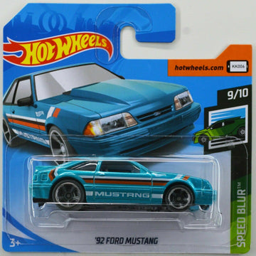 2019 Hot Wheels '92 Ford Mustang #9/10 Speed Blur