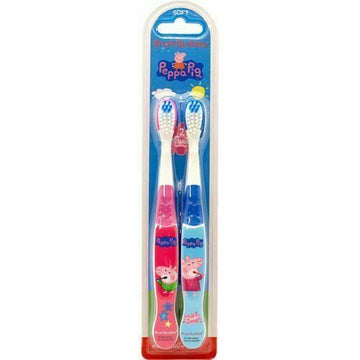 2 Per Pack Brush Buddies Soft Toothbrushes