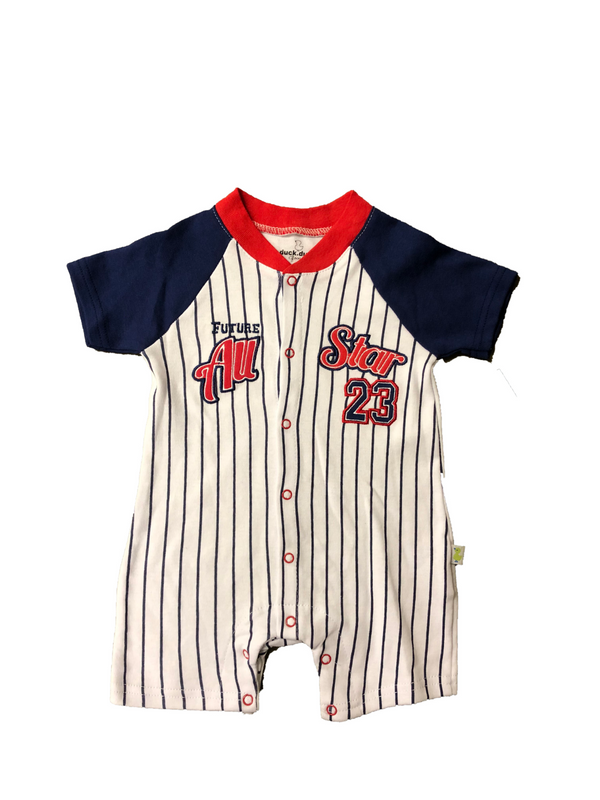 "Baby Boy 1 Piece ""Future All Star"" Duck Duck Goose Apparel"