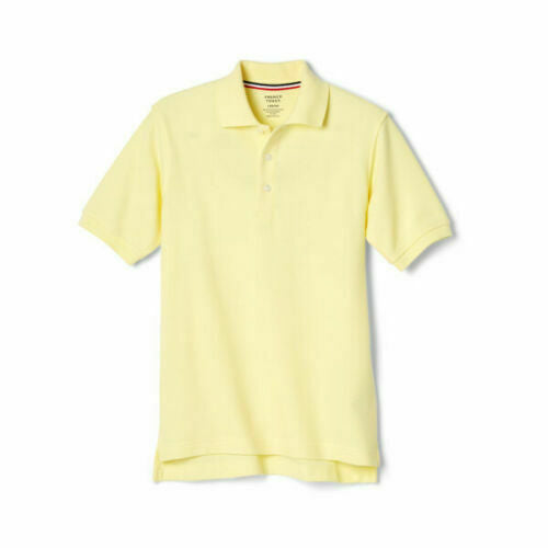 French Toast Toddler Boys' Short Sleeve Pique Polo Uniform (Sizes 2T-4T)
