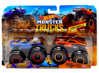 Hot Wheels Monster Trucks Demolition Double Series
