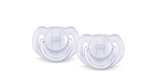 Philips Avent 2 Pack 6-18 Months Translucent