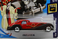 2019 Hot Wheels Cruella De Vil #1/10 HW Flames 101 Dalmatians