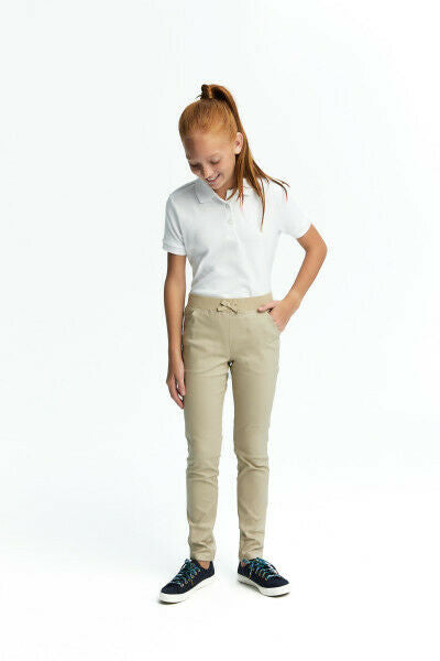 French Toast Girls Short Sleeve Picot Collar Uniform (Sizes: XS-XXL)