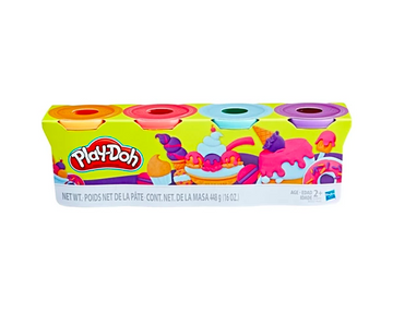 Play-Doh 4pk Modeling Compound Sweet Colors