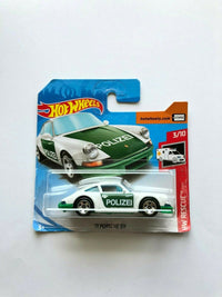 2019 Hot Wheels '71 Porsche 911 Polizei #3/10 HW Rescue