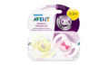Philips Avent Baby Newborn Orthodontic Pacifier 2 Pack 0-2 Months