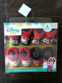 Disney Baby Minnie Mouse Bootie Set 4 Pack!