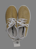 Chillipop Size 3 Sparkly Gold Sneakers