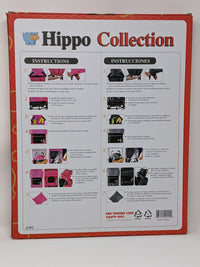 Hippo Collection Universal Stroller Weather Shield Red with Circle Pattern