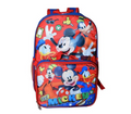 "Mickey Mouse 16"" Backpack W/Detachable Lunch Box"