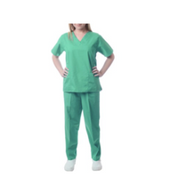 Sherly Uniforms Womens' Medical Scrub Set_Surgical Green