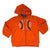 Champion orange Toddler boys zip up hoodie