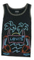 Levi's Black Neon Tropical Tank Top
