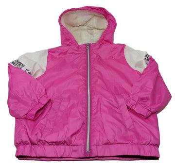 Love Chillipop Toddler Girl's Sherpa Lined Pink Hoodie Jacket