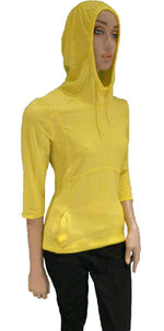 Old Mill Long Sleeve Hoodie in Yellow