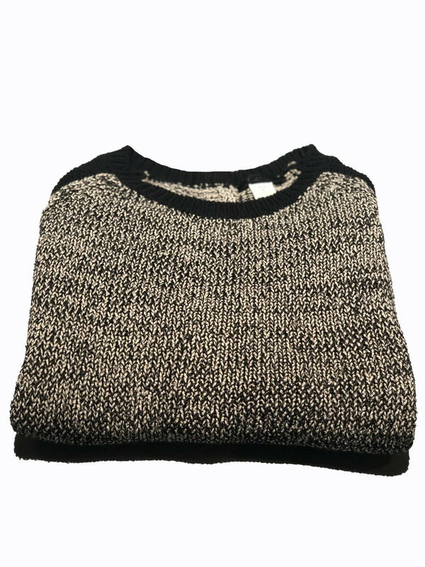 Kerisma Long Sleeve Women Charcoal Sweater With Back Clip On