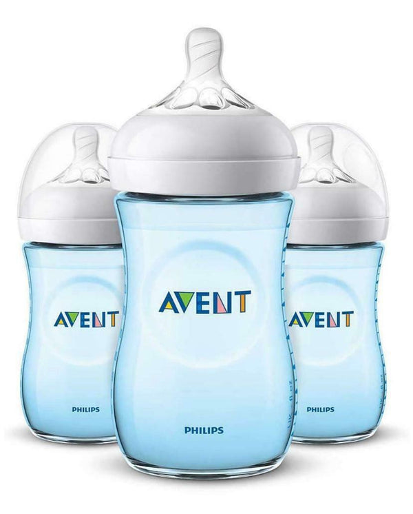 Philips Avent 9oz Natural Baby Bottles 3-Pack