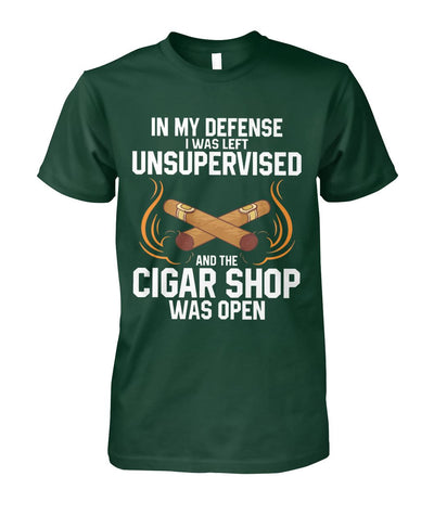 In My Defense - Cigars Lovers Club - Cigar Apparels, Shirts, Mugs, Posters...