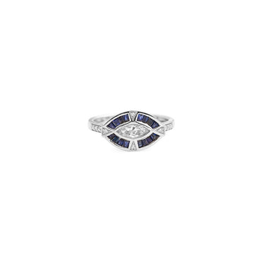 Mira Marquis Diamond Ring