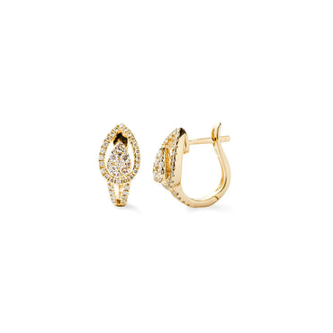 Firedrop Diamond Earrings