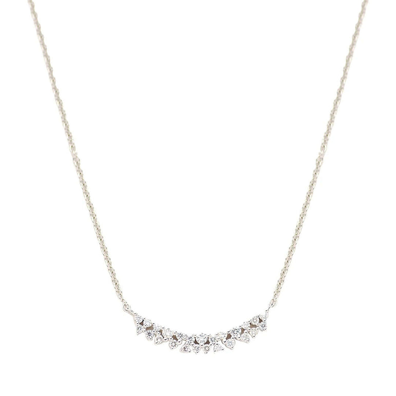 Gaia Diamond Curve Necklace