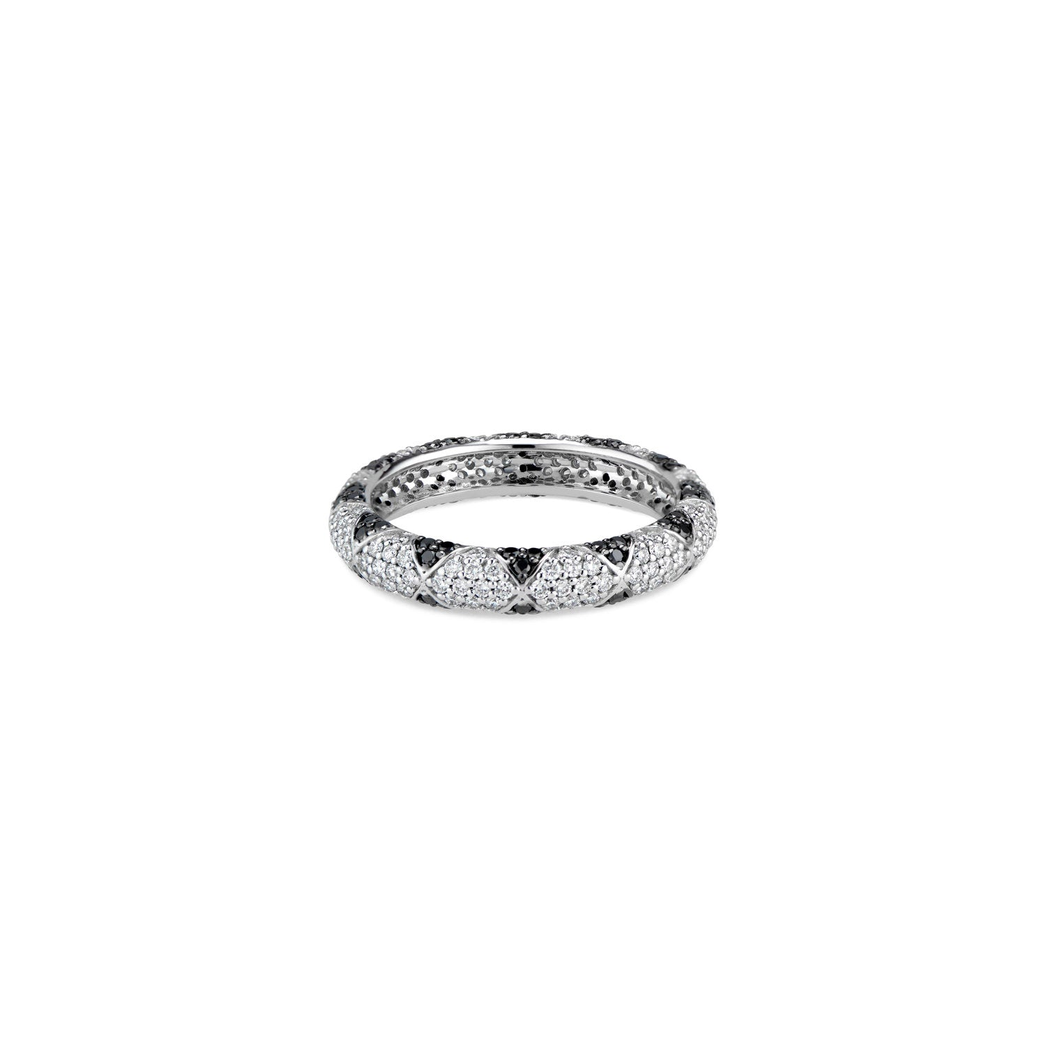 Eternity Multi Diamond Band Ring