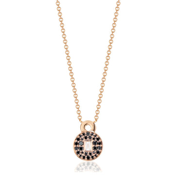 Love Lock Diamond Necklace