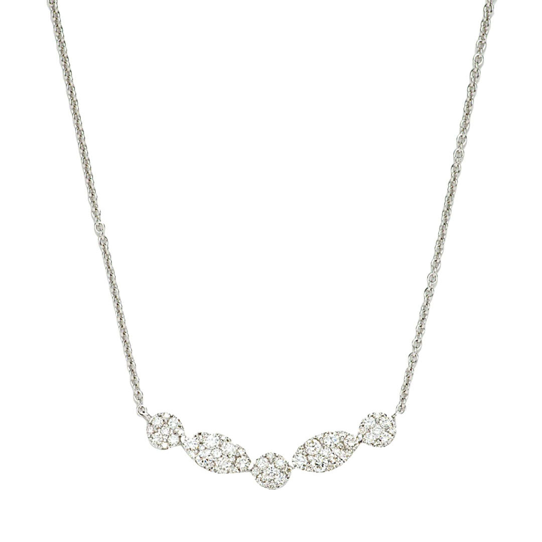 Willow Diamond Curve Necklace